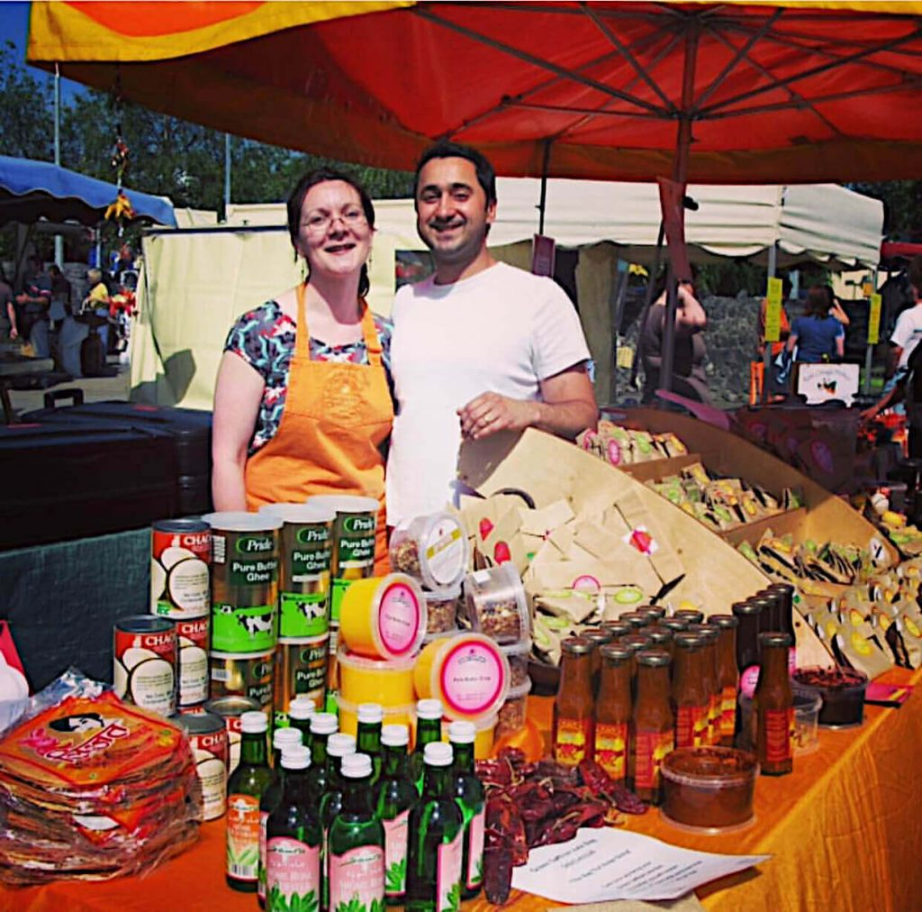 Arun and Olive early market