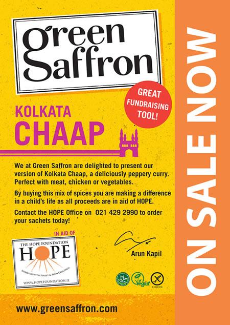 Green Saffron Kolkata Chaap