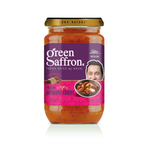 Green Saffron completely natural medium curry sauce