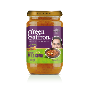 Green Saffron completely natural Mild Curry Sauce