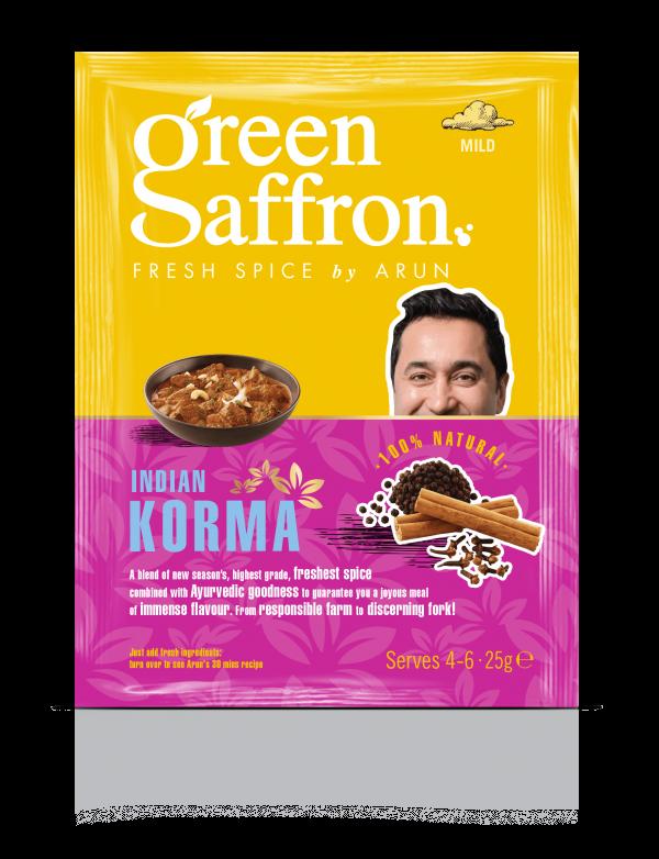 Green Saffron freshest Korma spice sachet