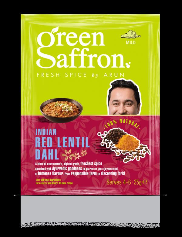 Green Saffron freshest Red Lentil Dahl Spices