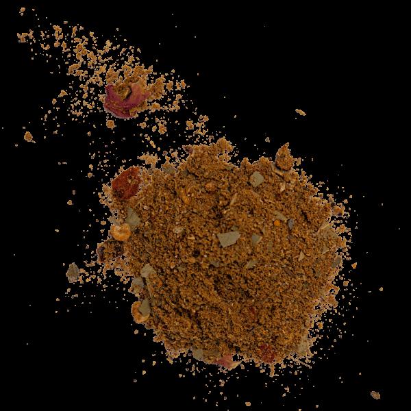 Bhuna spice pile